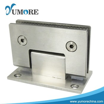 Stainless Steel Commercial Glass Door Wall Mount Pivot Hinges Buy