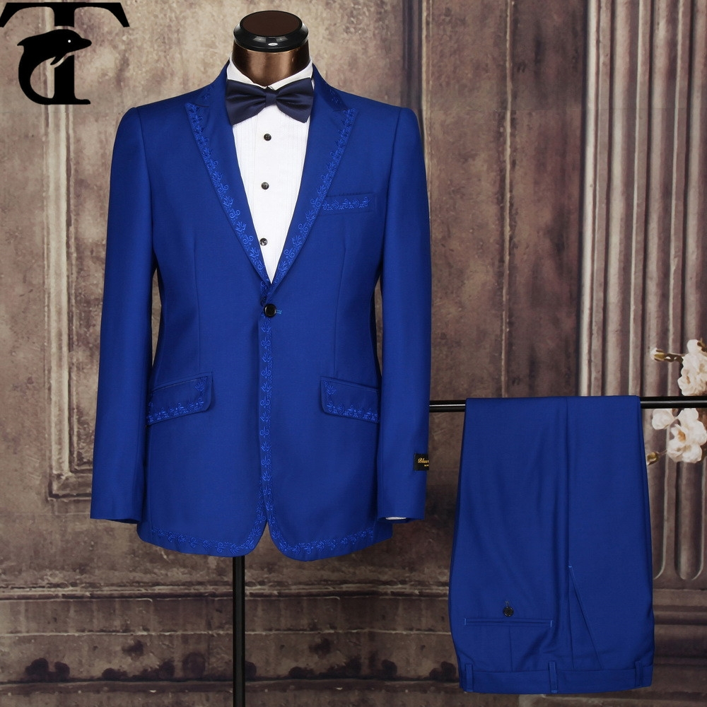 blau billig indische hochzeit anz ge nacht anzug f r m nner anzug und tuxedo produkt id. Black Bedroom Furniture Sets. Home Design Ideas