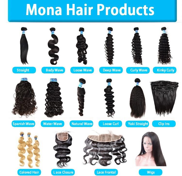 High grade human hair cheap virgin remy Cambodian loose wavy hair
