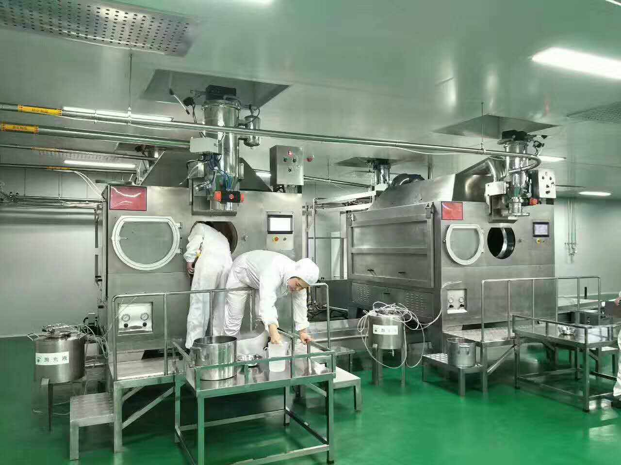 Large Capacity Fully Automatic Chocolate Nuts Sugar Coating Machine Crispy Coating Machine