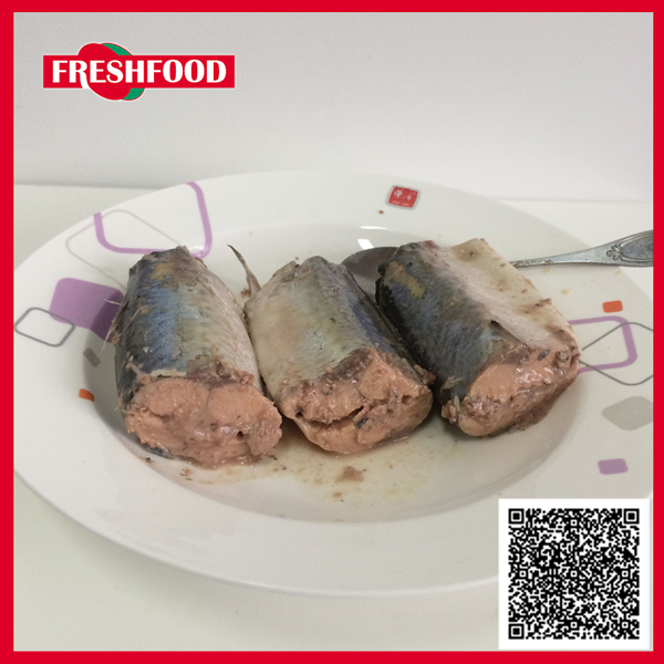 High quality healthy canned fish brine canned mackerel in brine