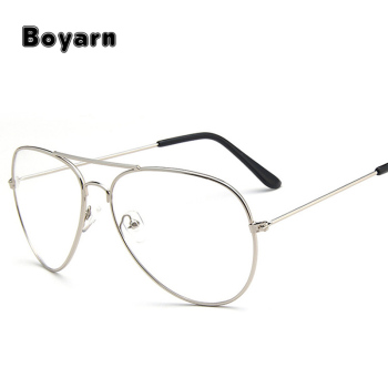121b8d59c3 Classic Sunglasses Frames Optics Eyeglasses Transparent Lens Clear Glasses  Women Men Optical Alloy Metal Eye Glasses