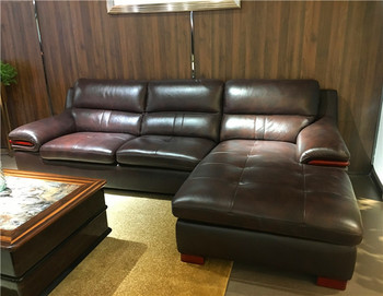 latest sectional l shape sofa cum bed designs modern style leather rh alibaba com l shaped leather sofa covers l shaped leather sofa singapore