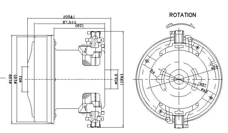 energy saving electric motor single phase 50hz 220v