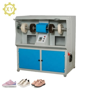 XY-815 High speed dust collection system environmental protection shoes brushing machine
