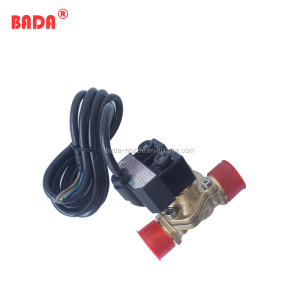 fuel dispenser dual flow solenoid valve