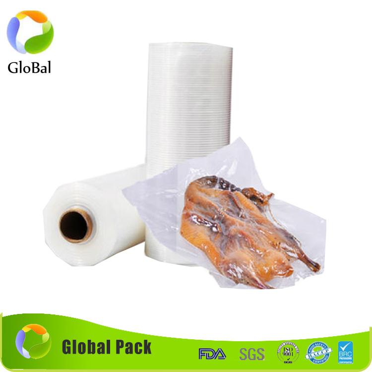 Özel gravür baskı plastik laminasyon dondurulmuş deniz ürünleri için retort kılıfı