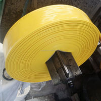great use pvc flexible water pipe 2 inch 4 inch 6inch 8inch with big diameter flexible pvc lay flat hose