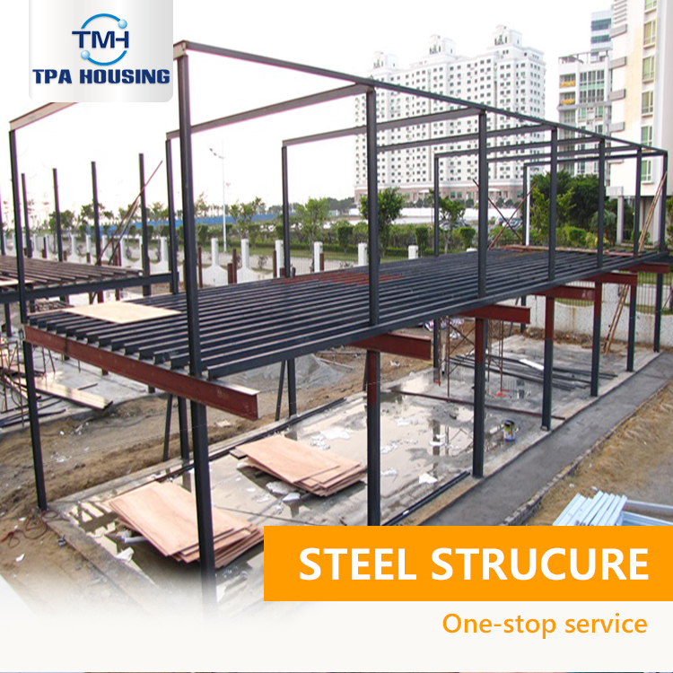 Nice Quality Steel Frame Structure Warehouse 2 Floors Prefab Modular Steel Prefabricated Warehouse Offices In Mexico