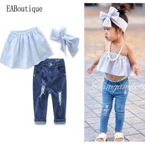 13bc26dfe445 China Girls Denim Suits