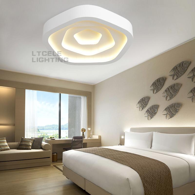 montaje en superficie lmparas de techo iluminacin interior abajur lmpara de techo led modernas lmparas de