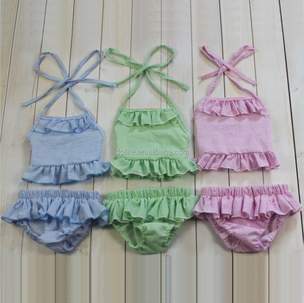 d10a14e95e420 قطعتين طفلة ملابس السباحة مجموعة اطفال بنات السباحة مجموعة بلون السباحة  مجموعة