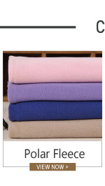 factory wholesale 100 polyester Shu Velveteen fleece fabric 100%cotton jersey bond fabric