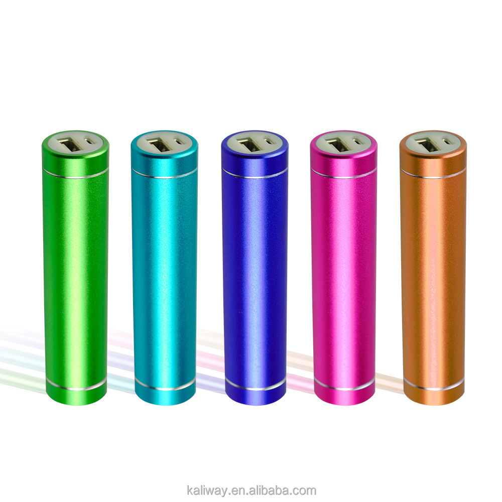 Unique and fashion design lipstick battery charger portable power bank