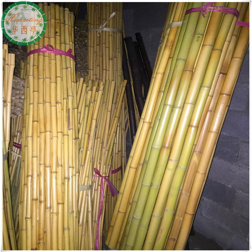 Decorative cheap bamboo poles sale buy raw