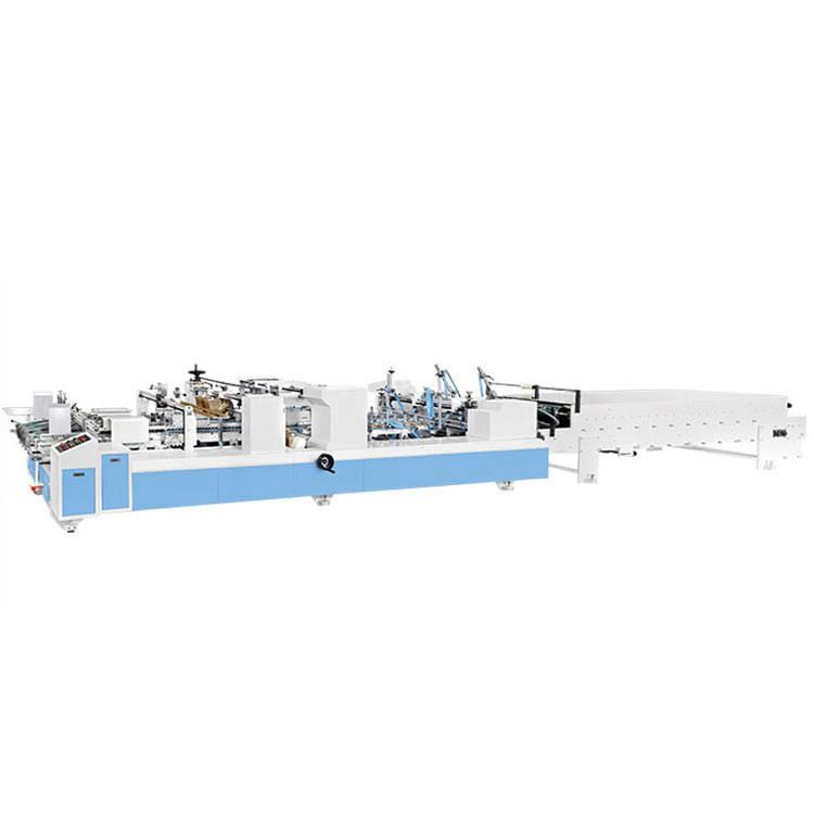 ZH-780AC 4/6 Corner Packaging Box Pasting Machine Folder Gluer