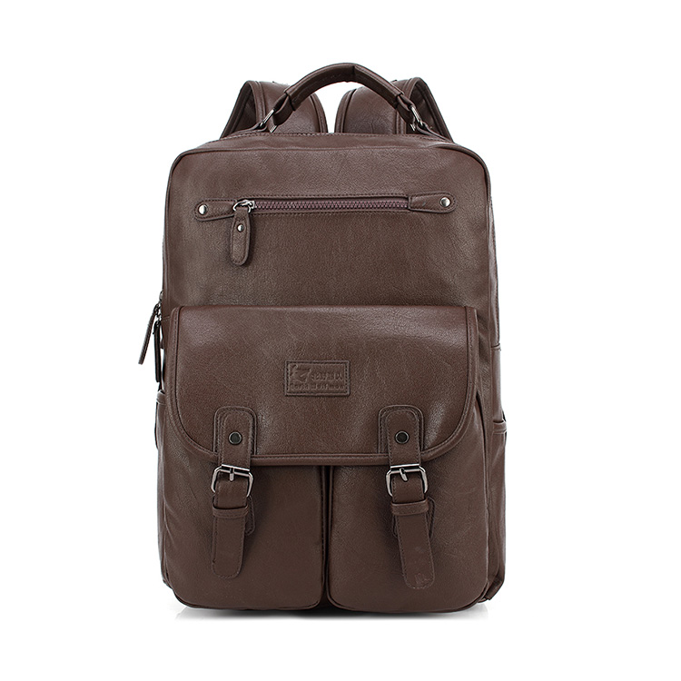 Express alibaba sales of great quality practical customized leather backpack