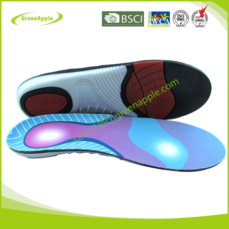 China Insole Manufacturer Shoe Inlay Sport Gel Cushions Arch ...