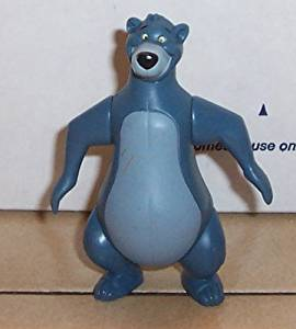 2002 Mcdonalds Jungle Book 2 Baloo Happy Meal Toy Disney