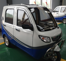 5 doors 3 seats electric rickshaw hot selling model 1000w motor 60v battery made in China
