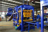 QT6-15 Widely used concrete block making machine for sale in USA, latest cement brick making machine price in India