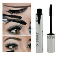 New Arrival Brand New Black Eye Mascara Long Eyelash Silicone Brush Curving Lengthening Mascara Waterproof Makeup