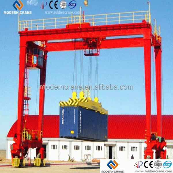 China Professional Manufacturer Of Rail Type Container Gantry ...