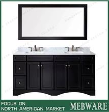 Fantastic 72 Inch Solid Wood Bathroom Vanity 72 Inch Solid Wood Home Interior And Landscaping Ferensignezvosmurscom