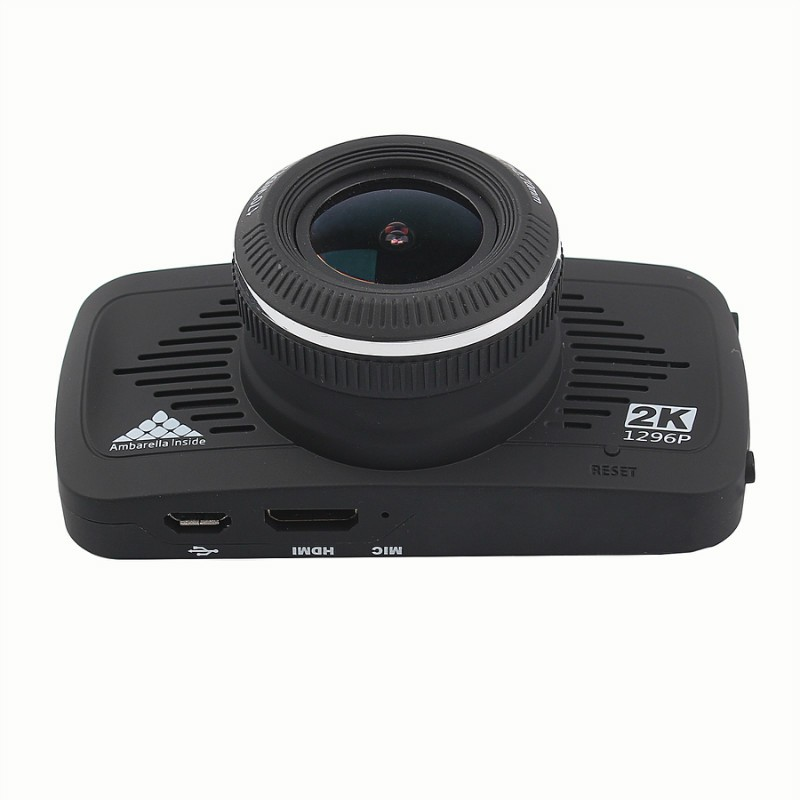 Factory Price Full HD 1080p Car Black Box DVR With GPS Speed Warning