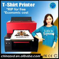 Best price high quality t shirt printing machine , dtg fabric printer for sale