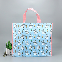 Customized cartoon non woven PP lamination tote bag