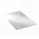 White rectangle bathroom acrylic shower tray base PB001