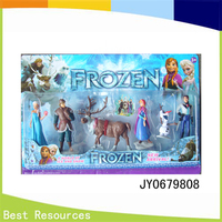 Hot sale 4.5inches frozen doll toys/6pcs with high quality for chindren