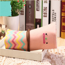 Чехол kawaii Smile, сумка-карандаш, чехол с кистью, s, сумочка, сумки, подарок, Канцтовары для школы(Китай)
