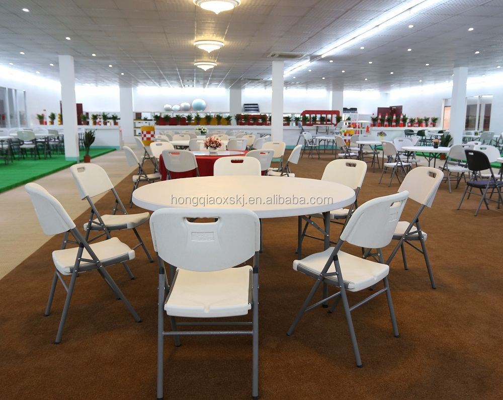 Ronda 6 Asientos Hotel Catering Mesa/122*74 Cm Resistente Molde De ...