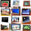 7 8 10 12 13 14 15 17 19 22 23 26 inch digital photo frame wall mounted ,auto loop video play