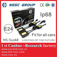 Super bright and high quality 12V 24V 35W 55W Slim Canbus HID Ballast fast shipping swing hi/low hid xenon kits