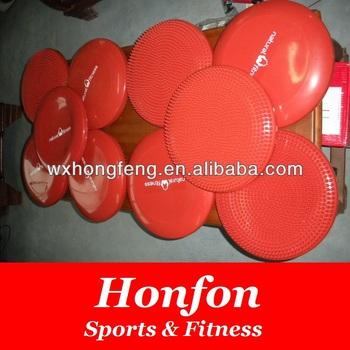 inflatable massage balance seat air cushion, pvc fitness balance disc exercises