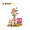 Crafts type puzzle toy promotional wooden puzzle