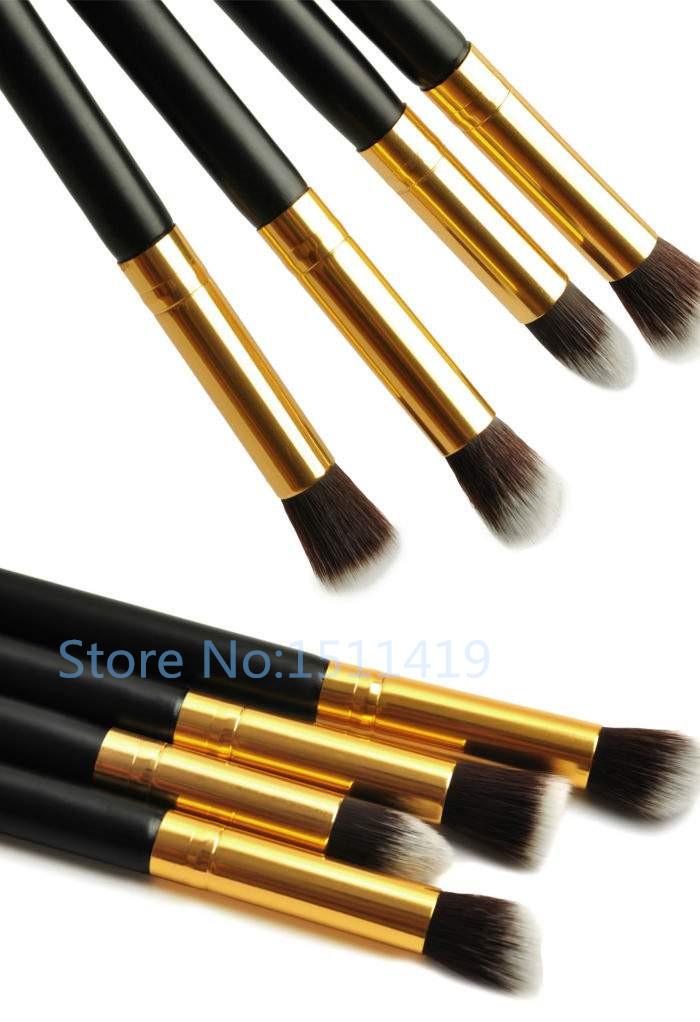 Professional Eye Care Associates Town Street: 1Set/4Pcs Professional Eye Brushes Set Eyeshadow