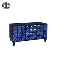 2017 latest fashion design wholesale China supplier modern tv cabinet 3 doors living room table