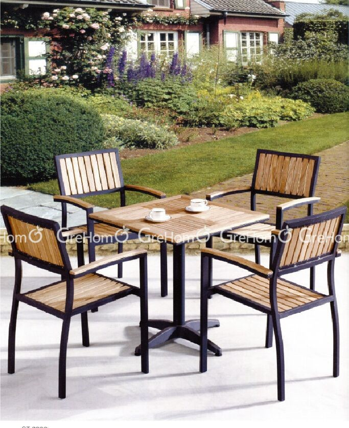 garden set furniture design with coffee table