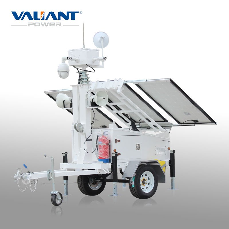 400watts led solar power light plant VALIANT VTS900A-L