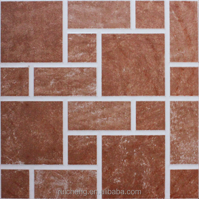 400x400mm antideslizante esmaltado r stico piso de for Baldosas para pisos interiores