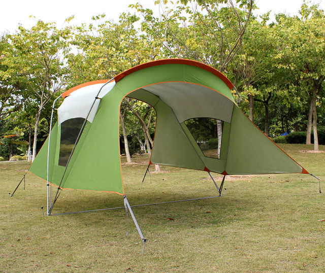 Trap Tent Gazebo Folding Camping Tent Outdoor Sun-in Tents