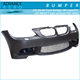 FOR BMW E92 3 SERIES 2007-2010 M3 STYLE PP POLYPROPYLENE FRONT END BUMPER CONVERSION WITH PDC HOLES