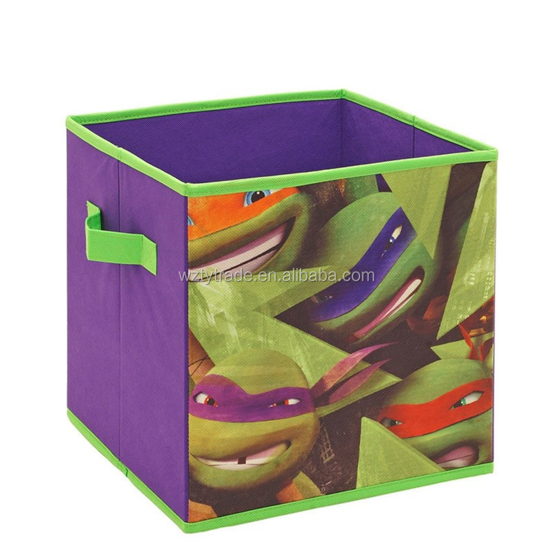kids living room colorful toy storage box