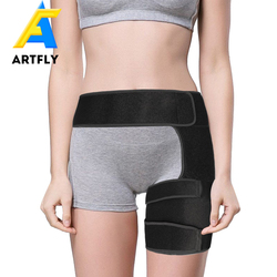 High Quality Adjustable Neoprene Groin Hip Thigh Support Brace For Sports