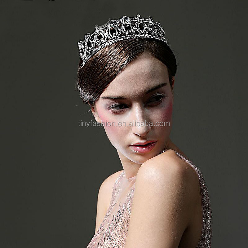 OEM Elegant Luxious Crystal Princess Tiara Jewelry Bridal Wedding Rhinestone <strong>Crown</strong>