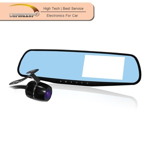 2018 Carmaxer Design in Korea GPS Full HD BT hands free rear view mirror